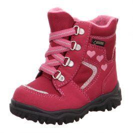 zimní boty HUSKY fuchsia 23