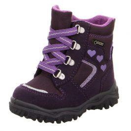 zimní boty HUSKY fialová 27