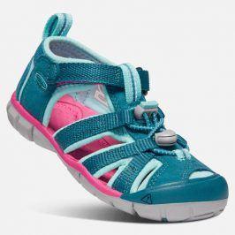 Dětské sandály SEACAMP II CNX K deep lagoon/bright pink tyrkysová 31