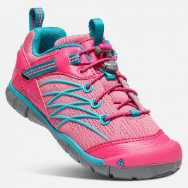 Outdoorové boty CHANDLER CNX JR, bright pink/lake green růžová 38
