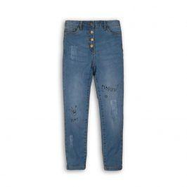 Kalhoty dívčí džínové s elastenem modrá 152/158