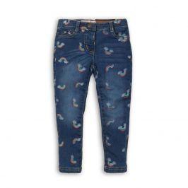 Kalhoty díčí džínové s elastenem modrá 122/128