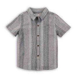 Košile chlapecká šedá 104/110