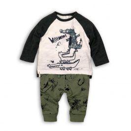 Kojenecký set: tričko a kalhoty kluk 80/86