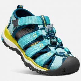 Dětské sandály NEWPORT NEO H2 JR, aqua sea/legion blue modrá 34
