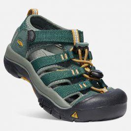 Dětské sandály NEWPORT H2 JR, green gables/wood thrush zelená 32/33