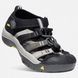 Dětské sandály NEWPORT H2 JR, black/magnet černá 35