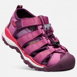 Dětské sandály NEWPORT NEO H2 JR, red violet/grape wine růžová 37
