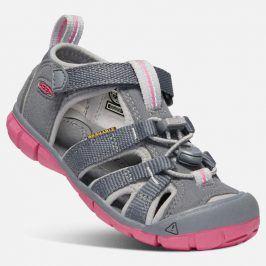 Dětské sandály SEACAMP II CNX K steel grey/rapture rose šedá 29