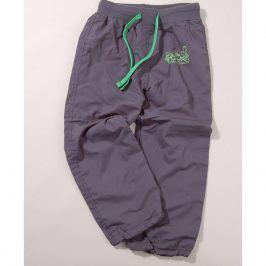 kalhoty sportovní šedá 140
