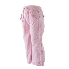 kalhoty roll up růžová 98/104