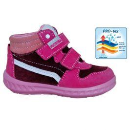 obuv dětská celoroční MEG růžová 23