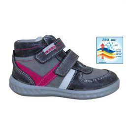 obuv dětská celoroční SENDY šedá 24