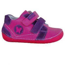 obuv dětská barefoot VALERY růžová 19