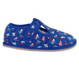 papuče chlapecké barefoot RAVEN BLUE modrá 26
