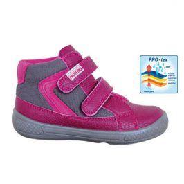 obuv dětská celoroční MOANA růžová 29