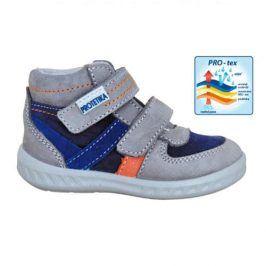 obuv dětská celoroční SOREN šedá 23