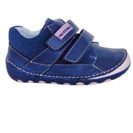 obuv dětská barefoot NED PINK modrá 21