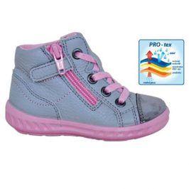 obuv dětská celoroční KIARA šedá 22