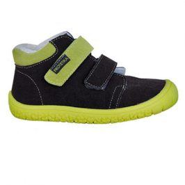 obuv dětská barefoot MARGO GREEN zelená 28