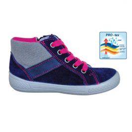 obuv dětská celoroční SISI NAVY tmavě modrá 33