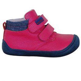 obuv dětská barefoot HARPER FUXIA růžová 21