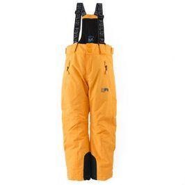 kalhoty zimní lyžařské oranžová 110