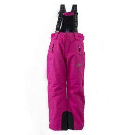 kalhoty zimní lyžařské růžová 152
