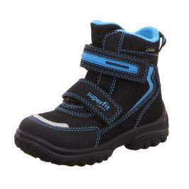 zimní boty SNOWCAT modrá 26