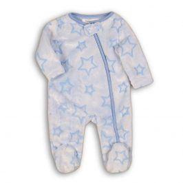 Overal kojenecký fleezový světle modrá 56/62