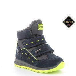 chlapecké boty zimní GTX modrá 27