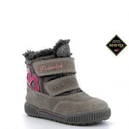 dívčí boty zimní GTX šedá 23