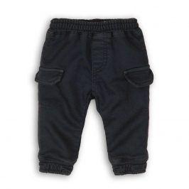 Kalhoty chlapecké s kapsami tmavě modrá 80/86