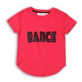 Tričko dívčí s krátkým rukávem růžová 98/104