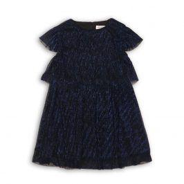 Šaty dívčí slavnostní tmavě modrá 104/110