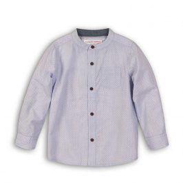 Košile chlapecká bavlněná světle modrá 110/116