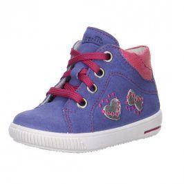 Dívčí celoroční boty MOPPY fialová 25