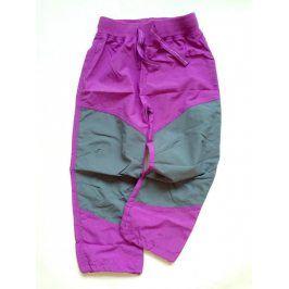kalhoty sportovní outdoor fialová 146