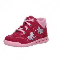Dívčí celoroční boty AVRILE MINI červená 19