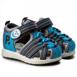 Chlapecké sandály Turc světle modrá 22