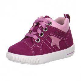 Dětské celoroční boty MOPPY červená 21