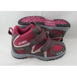 obuv softshell červená 35