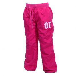 kalhoty sportovní růžová 158