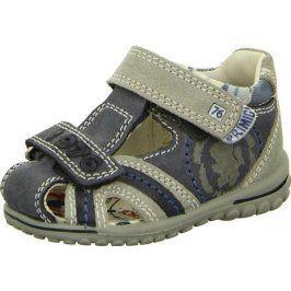 sandály DANN modrá 22