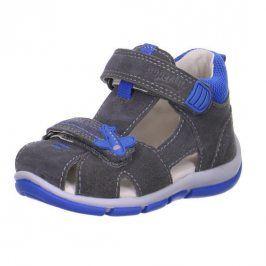 Chlapecké sandály FREDDY šedá 19