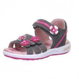 Superfit 0-00133-06 Dívčí sandály EMILY šedá 31