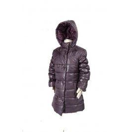 dívčí kabát PUFFY šedá 122