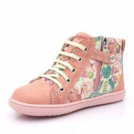 Dívčí kotníková obuv růžová 24