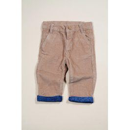 dětské kalhoty hnědá 56