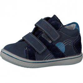 kožené celoroční botičky LAIF modrá 23